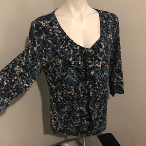 East 5th size large blouse